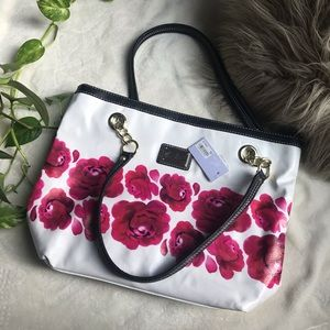 NWT Marc Fisher Floral Tote Bag